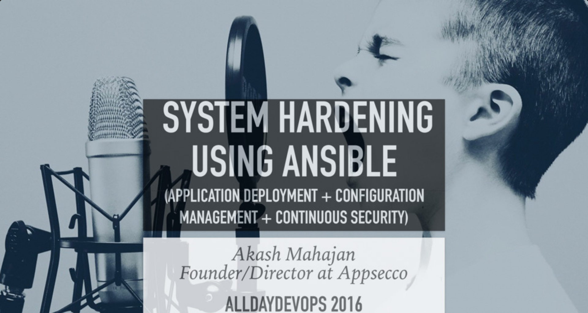 System Hardening Using Ansible